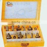Tungsten carbide router bit-12pcs set-A (0842)