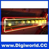 Arrow indicator neon sign neon road sign