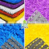Colorful artificial grass for school (red,green,yellow.blue,white)