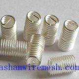 304 stainless steel silver wire thread inserts by xinxiang bashan