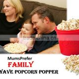 BPA-free Silicone Popcorn Maker for Microwave