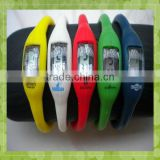 MA-1108 2013 New Arrival Hot Selling Factory Direct Sell Silicone 8Flashing Watch