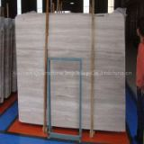 Guizhou White Wooden Marble Flooring Tile for Home Decoration