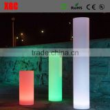 16 colore LED lighting pillars columns lighting colors