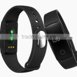 factory price smart bluetooth 4.0 health bracelet veryfit wristband with heart rate monitor