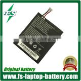 Mobile phone accessories 3.8v 2000mAh phone batteries for ACER BAT-A10(1ICP4/58/71) BAT-A10 KT.0010S.010 cell phone batteries