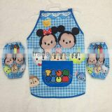 TF-Y02160703004 2016 Baby Toddler Bib Sleeveless Water food Resistant Smock Eat/Play/Stay Dry
