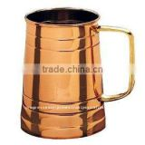 MANUFACTURER OF SOLID COPPER MUGS AND TANKARD FOR Rain VODKA MIXOLOGY