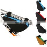 Bike Top Tube Cycling Bag Bicycle Triangle Pouch tool kit Package