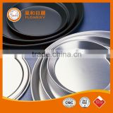 food grade teflon coating baking dishes&pans cake mould aluminium non-stick used pizza pans for sale