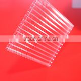 trapezoidal heat preservation transparent anti-fog polycarbonate sheet for swimming pool cover