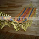 200*120 striped outdoor garden furniture tassel hammock