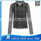 Wholesale Black <b>Denim</b> <b>Jacket</b> Women