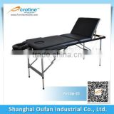 Acrofine Anlite-lll Blue Aluminium massage table with stable legs system