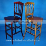 wooden cross back high back hotel chair banquet dining chairs