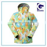 2015 new style snow jackets ski jacket colorful snow jacket manufactory
