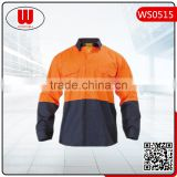 high quality plain work safety shirt