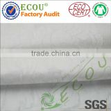 100% cotton/pure cotton nature white color woven fabric