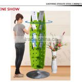 Chinese wholesaler tree shaped bookshelf/rotating bookshelf/metal bookshelf
