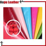 pu synthetic shoe leather fabric material wholesale