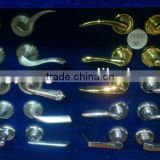 forgng brass door handles & locks with different styles