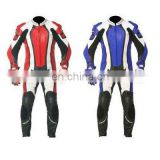 Leather Motorbike Racing Suit,Leather Motorcycle Suit,Racer Leather Suit