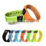 tw64 waterproof sport bluetooth smart bracelet heart rate monitor gym wristbands