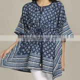 Indian Cotton Handmade Night Wear Sleepwear Kaftan Girls Designer Bathrobe Caftan Kimono Abaya Sexy Nighty