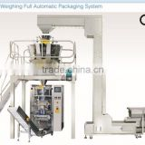 automatic machine packing popcorn/Corn flakes packing machines with multihead weigher china manufaturer