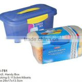 plastic big suitcase,storage box,us general tool box