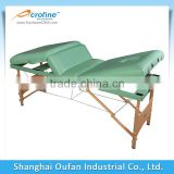 4 Sections wooden massage table