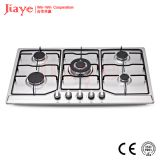 Jiaye Group Stainless steel gas hob/86cm kitchen gas stove/Built in 5 burner gas cooker JY-S5085