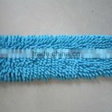 Microfiber Chenille floor cleaning mop head(mop pad)