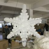 Artificial Pendant Snow Inflatable Snowflakes for Christmas Decoration