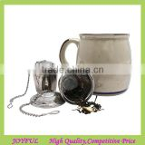 Top quality 304 stainless steel tea ball infuser bulk tea infuser S/M/L