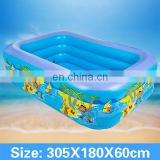 Inflatable swimming pool,children cartoon printing swimming pool