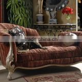 Luxury Spanish wooden living room chaise lounge/lounge chair/recliner