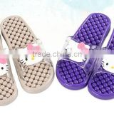 Hot sale high quality plastic massager slippers anti-slip bath slipper