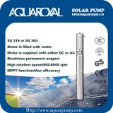 Solar Pumping Systems - Boreholes,Wells,Irrigation DC solar well pumps - 4SP8/7(Integrated Type)