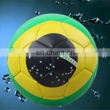 soccer ball - foot ball - Promotional Soccer Ball / Football PVC Shine Size 5 Custom logo printing Paypal Accepted!