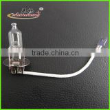 Car <b>halogen</b> <b>bulb</b> with Clear <b>quartz</b> glass H3 12v55w <b>halogen</b> <b>bulb</b>