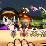 Crazy Mosquito,one button game, video game,arcade game
