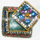 Beaded Jewellery Box, Lac Work Jewellery Box, Fancy Jewellery Box
