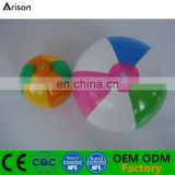 Colorful Inflatable beach ball inflatable promotional ball for water toys