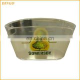 Plastic Custom Wholesale Beer Ice Bucket
