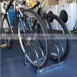Floor Mount Bike Garage Parking Stand Steel Rack