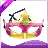 PVC golden mask Venetian masks for Halloween