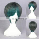 wholesale short 35cm multi color girls lolita synthetic wig