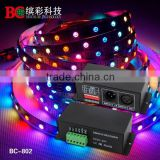 BC-802-8806 DC12V-DC24V DMX 512 Decoder for IC LPD8803 LPD8806