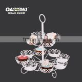 new 2 tier cupcake stand holder 12pcs